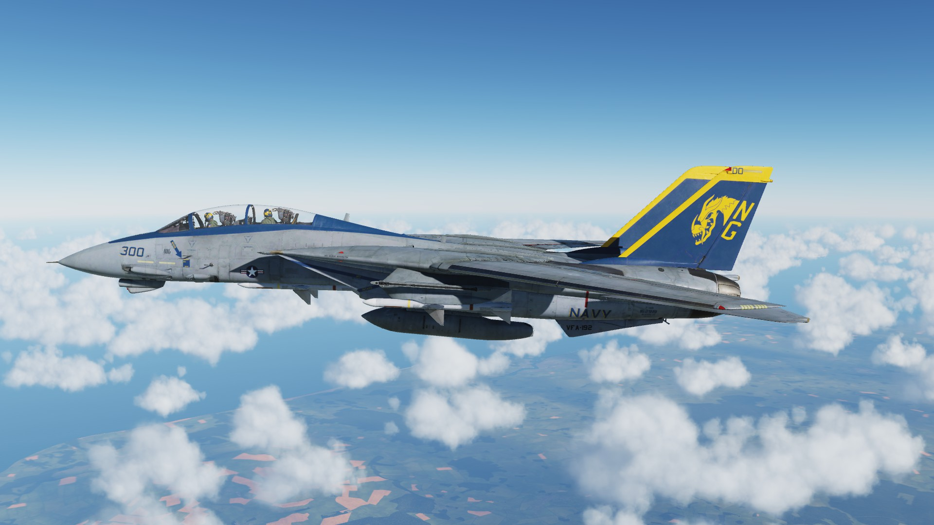 VF-192 Livery for the F14 Tomcat (Fictional)