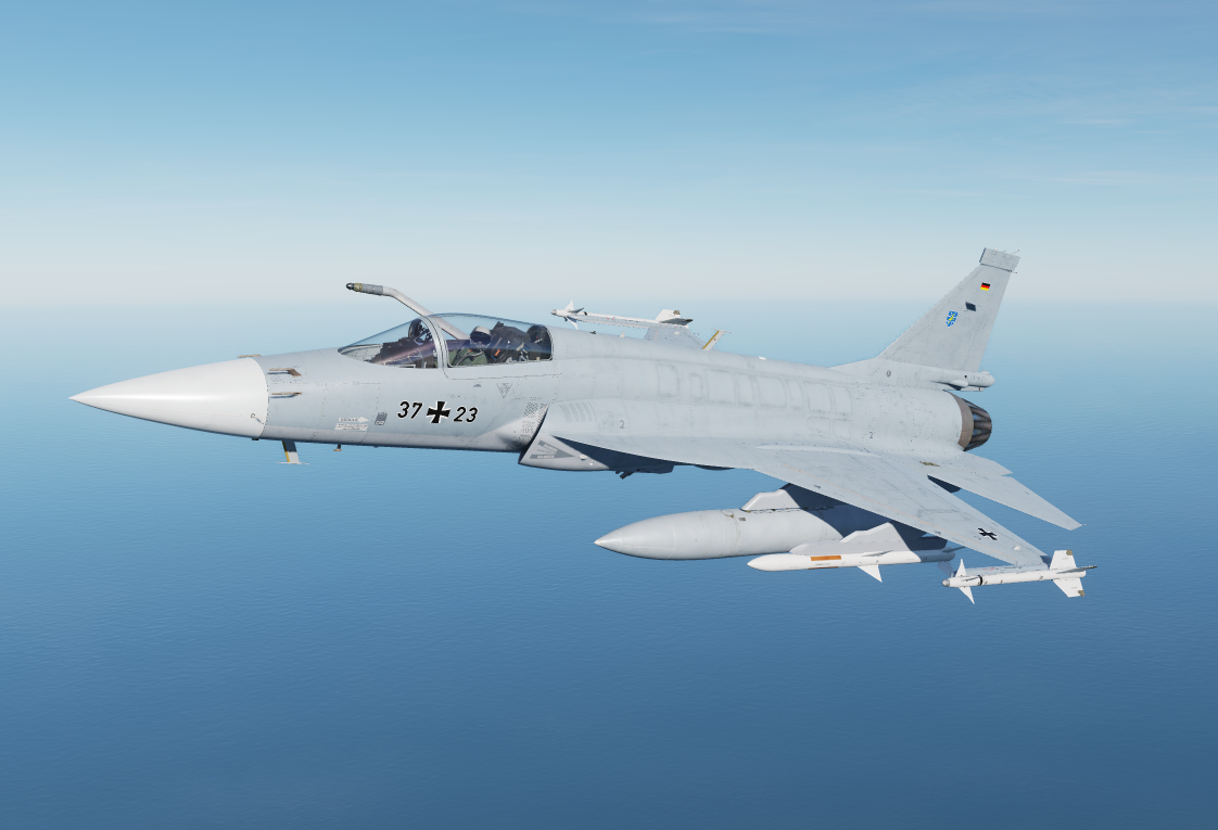 Fictional german airforce JF-17 Steinhoff