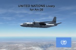 UNITED NATIONS [An-26B Livery]