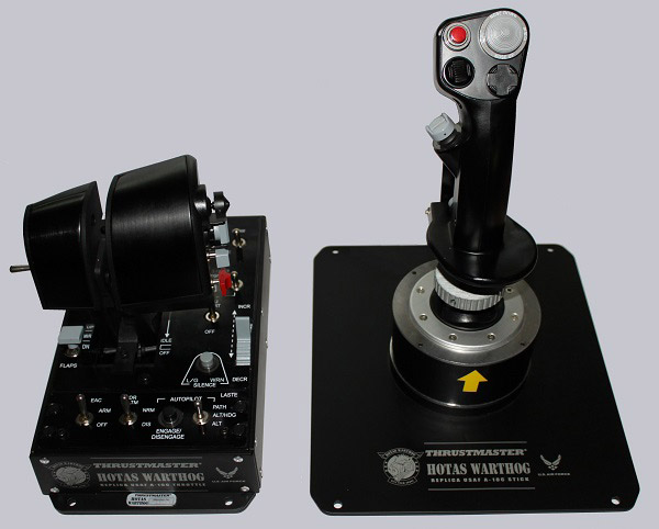 Thrustmaster Warthog Profile V2 0 For F-15C With TrackIR