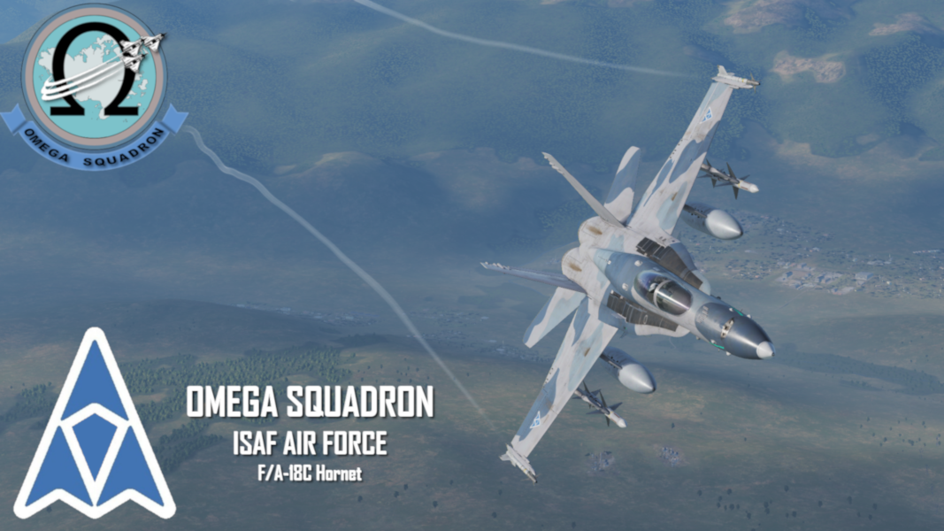 Ace Combat ISAF Air Force - Omega Squadron F/A-18C [SWW]