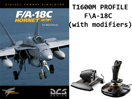 T1600M profile for F\A-18C