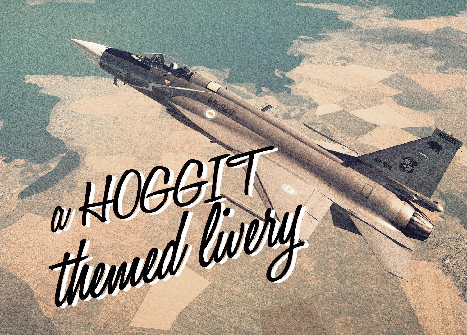 Hoggit Air Force -Starfighter (JF-17 Livery)
