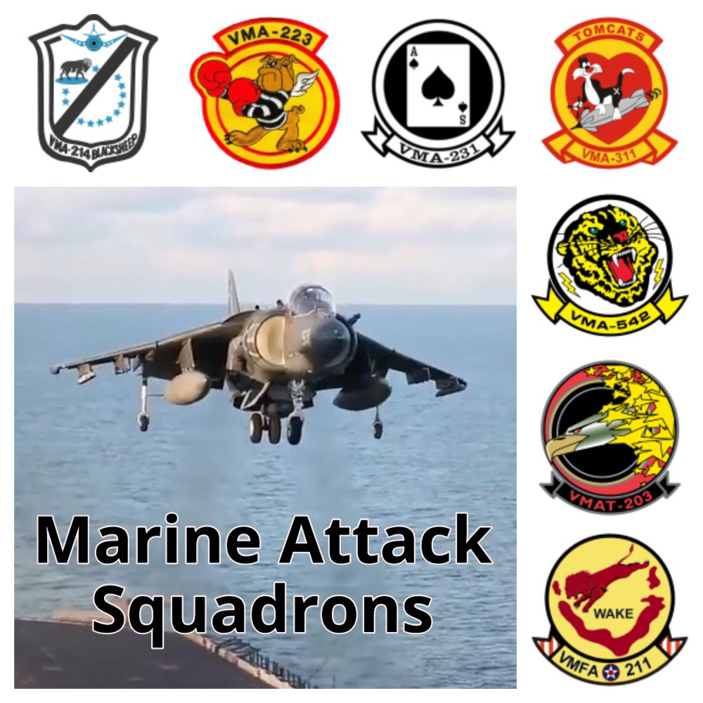 Additional logbook Marine Attack Squadrons