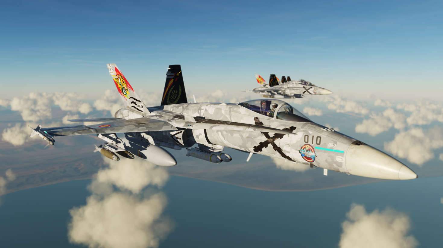 "[Fictional] F/A-18C Spanish ""Ala 15  - 35th Anniversary 2020"""