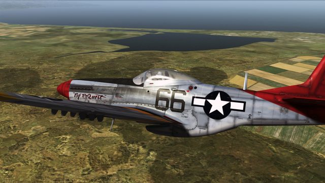 Red Tail P 51 By Request