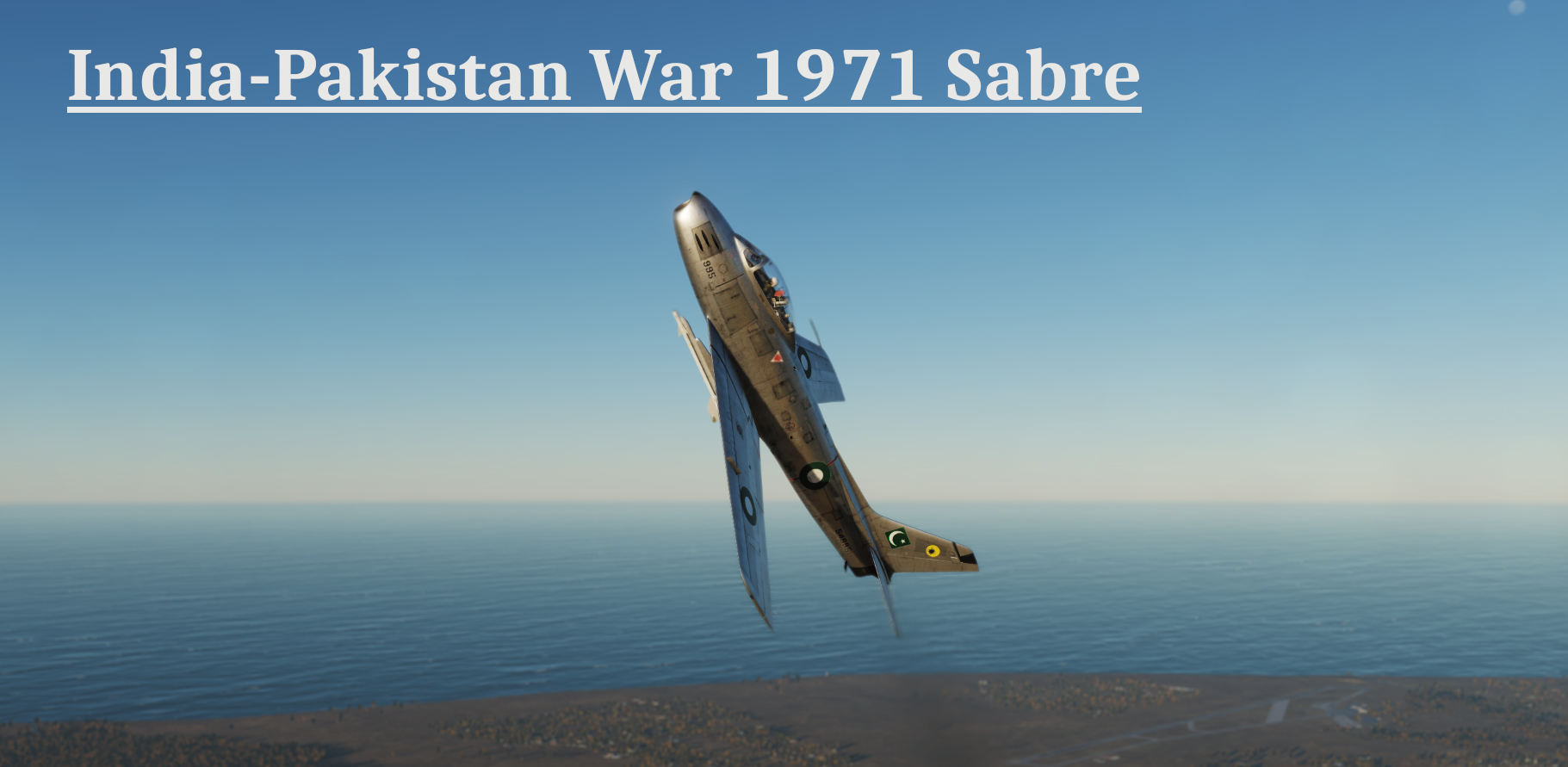 India-Pakistan War 1971 - Sabre Campaign STABLE released DCS WORLD version