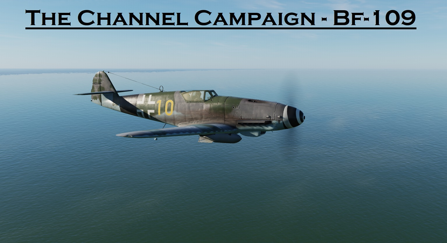 WWII The Channel BF-109 using Mbot Dynamic Campaign Engine