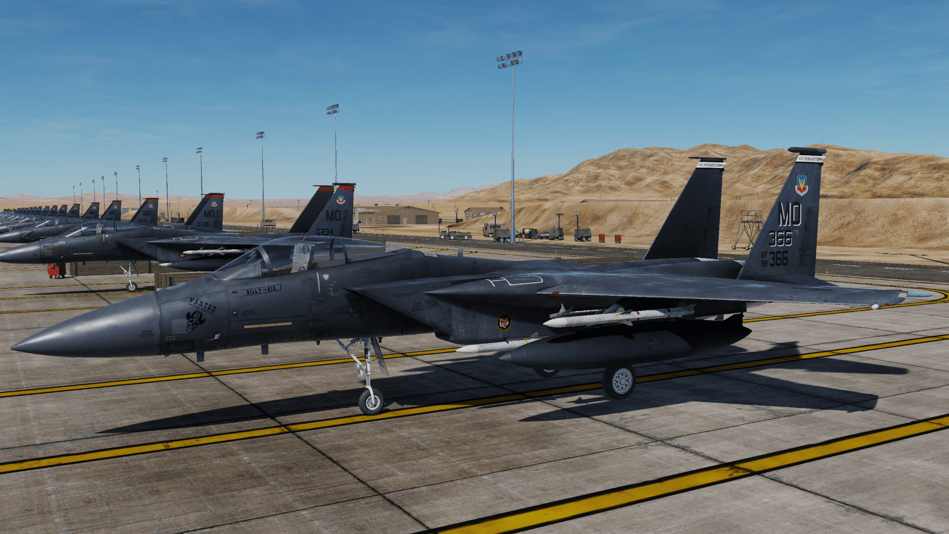 F-15C - 391st Fighter Squadron [F-15E / fictional Skin] [1/3]