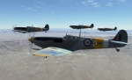 Spitfire Mk.IX «Finger Four» Formation Flying Mission