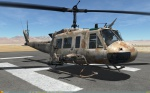 UH-1H Huey - No Markings - Octocamo Desert (MARPAT colors) (Fictional)