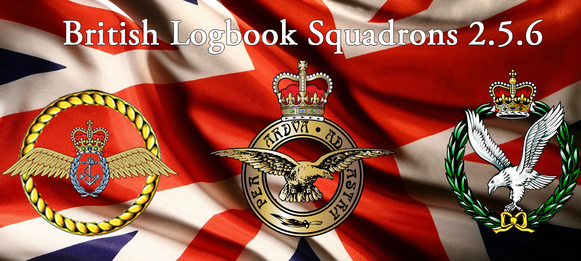 Additional UK Squadrons for Logbook