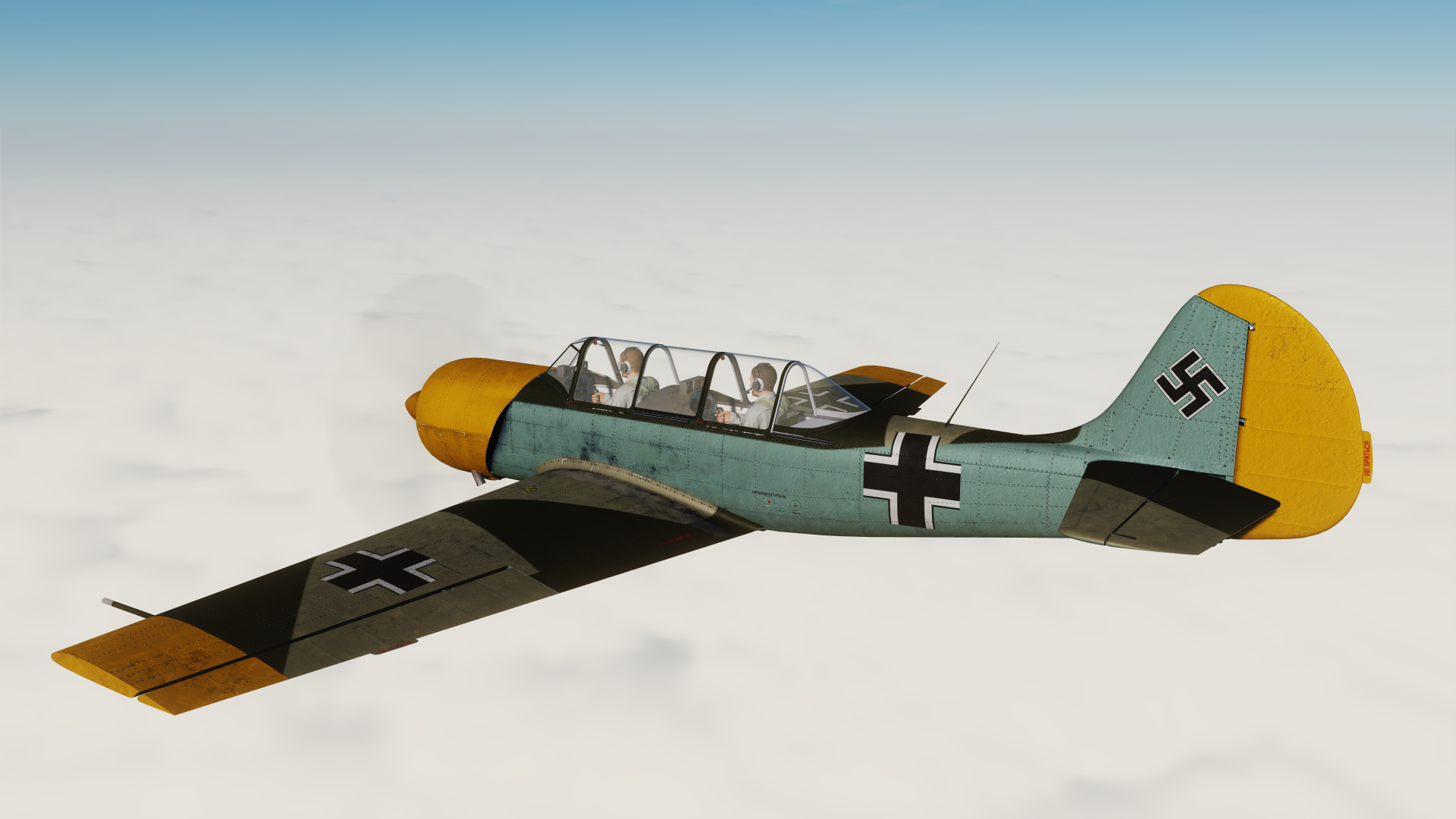 Yak-52 Luftwaffe Early War