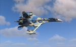 "Ukranian AF Low-viz ""Splinter"" skin for SU-27"