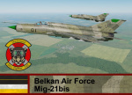 Belkan Air Force Mig-21bis - Ace Combat Zero (84 FS)  *UPDATED*