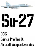 DCS Su-27 Input Device and Weapon Overview