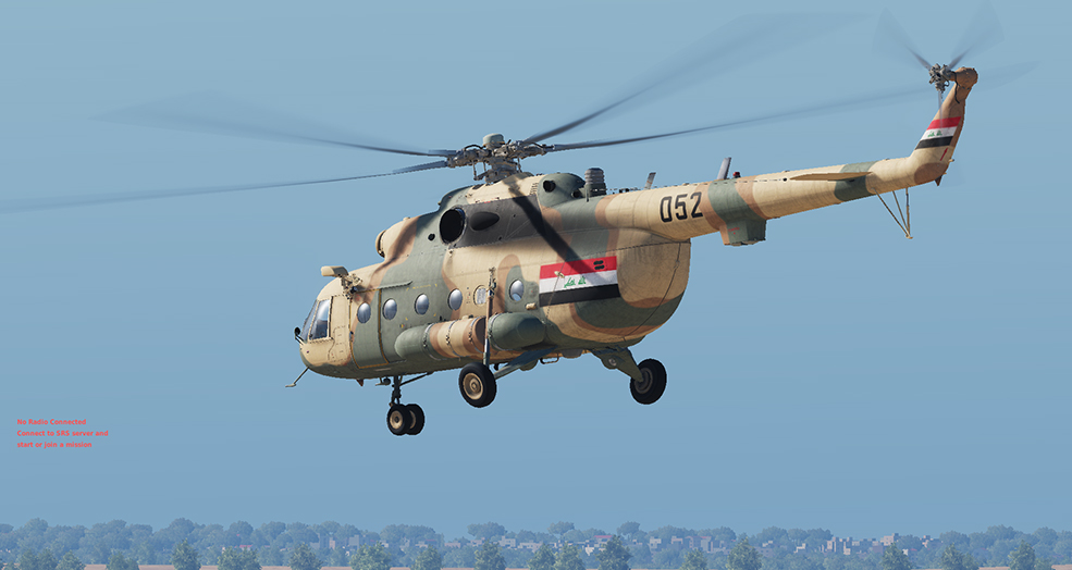 Iraqi Mi-8 skin (After 2003)