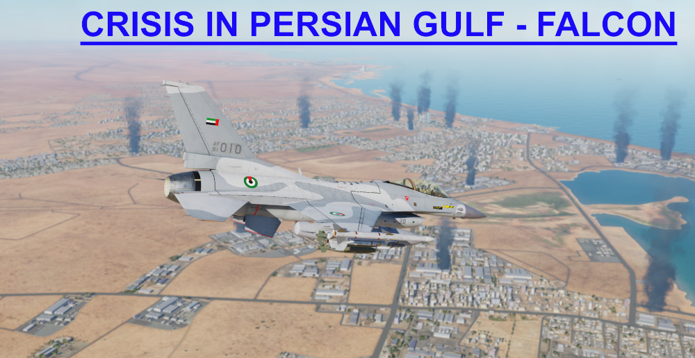 Crisis in Persian Gulf Falcon using Mbot Dynamic Campaign Engine