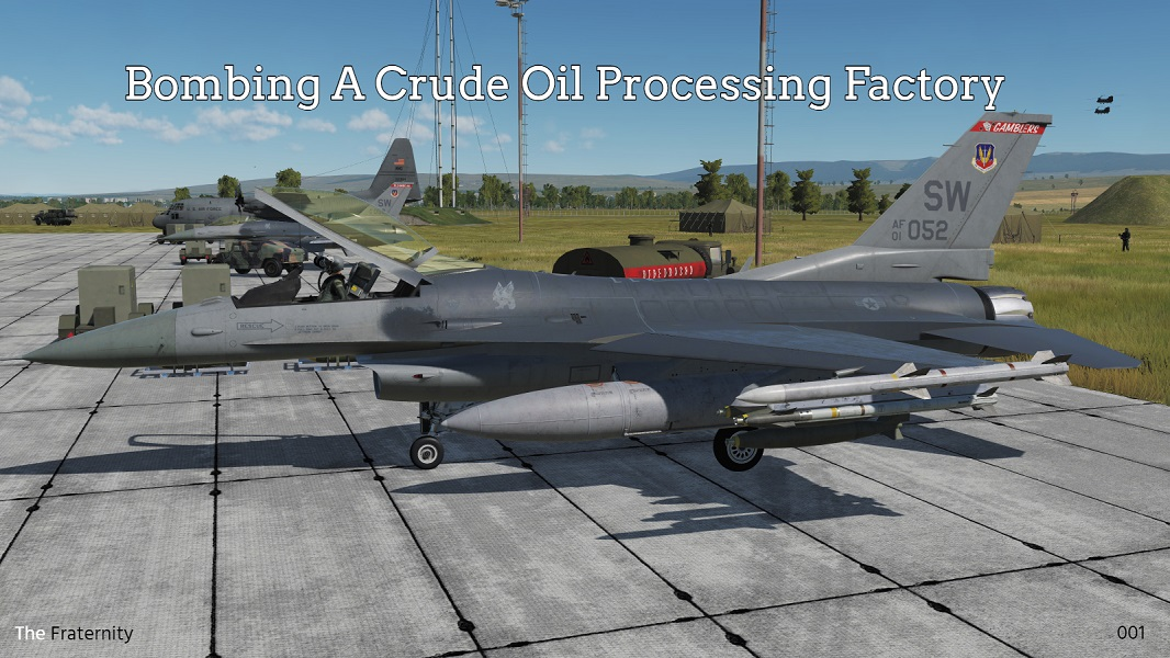 Bombing A Crude Oil Processing Factory
