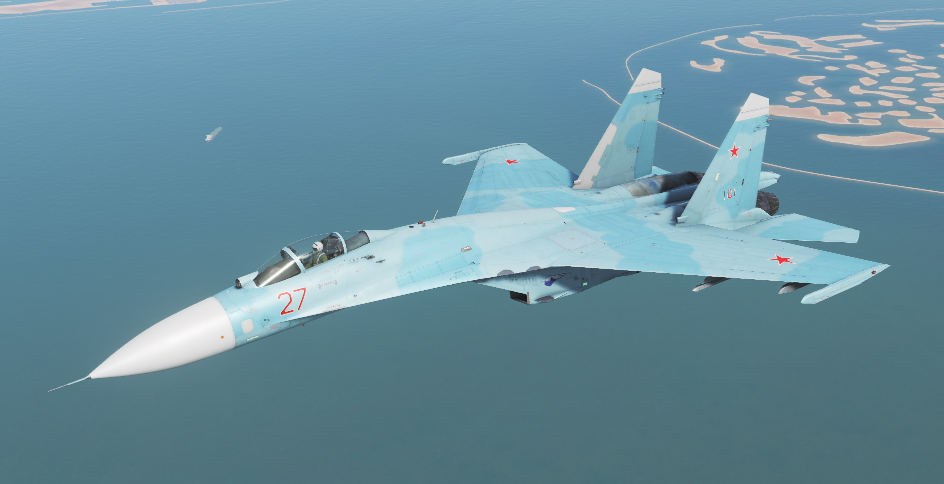 "J-11A Russian Air Force ""Su-27"""