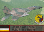 Belkan Air Force F-15c Eagle - Ace Combat Zero (15 FS)