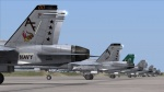 F/A-18C Tactical Support Wing skin pack