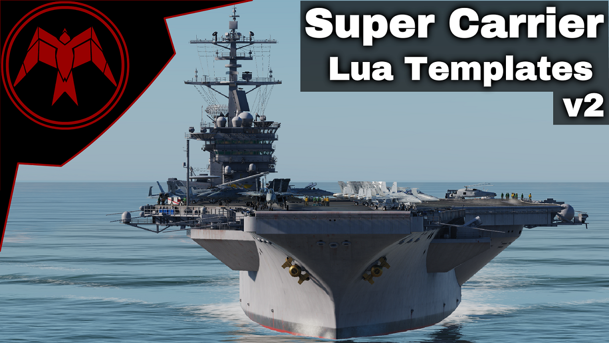 Supercarrier Lua Templates for static deck objects v2