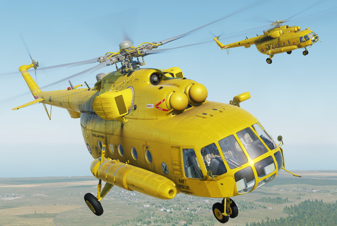 Fictional RAF Mi-8MTV2 SAR Seaking HAR3 from 22 & 202 SQN