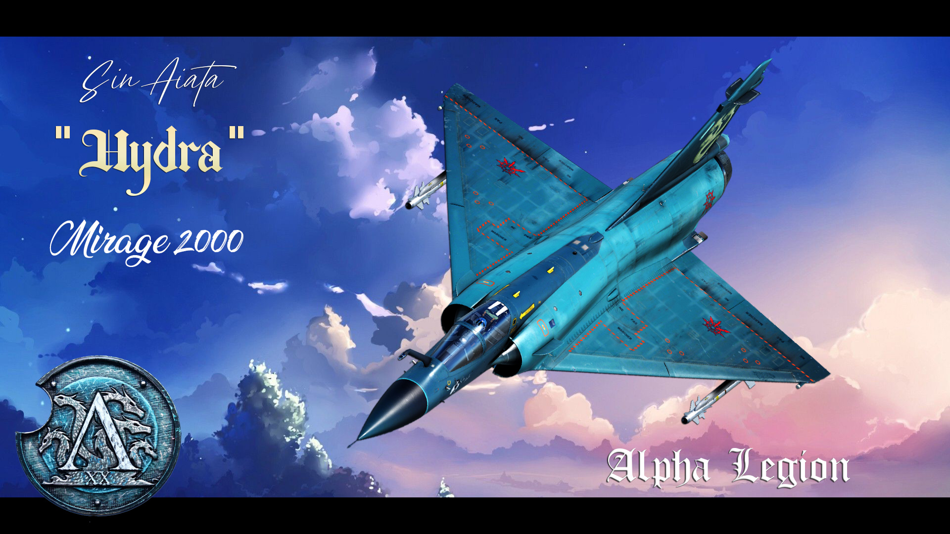 Mirage 2000 - Sin Aiata - Hydra Alpha Legion skin [FICTIONNAL] V3.9