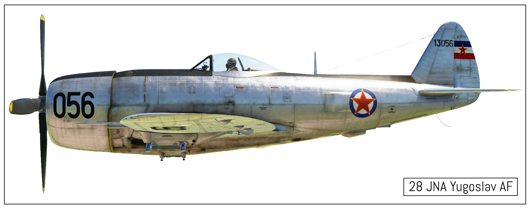 P-47D Yugoslavian Airforce *(FINAL)*