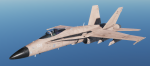 F/A-18C Fictional UK Air Force - Desert Pink