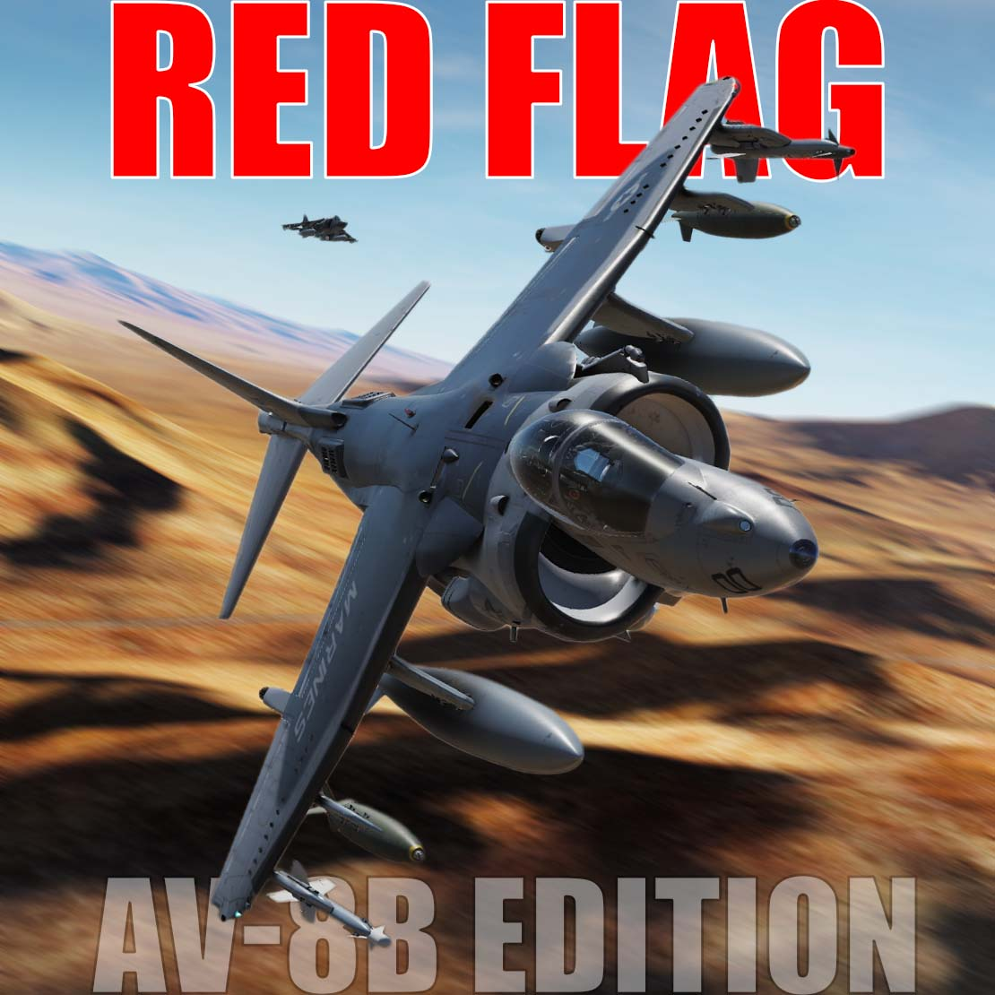 RED FLAG - Harrier Mission 1 (ver 1.9 updated February 22, 2020)