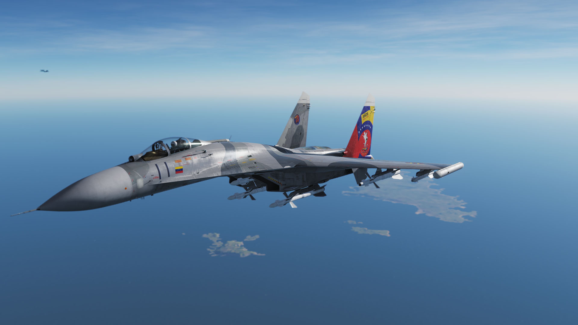 Venezuela Sukhoi-27 (Fictional but Based on Su-30MK2)