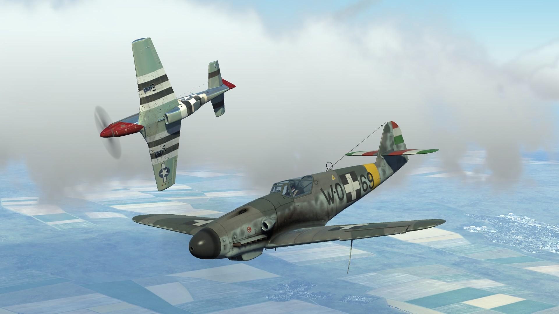Bf 109 G 10 Of Istv 225 N Quot Koponya Quot Fabian Rhaf