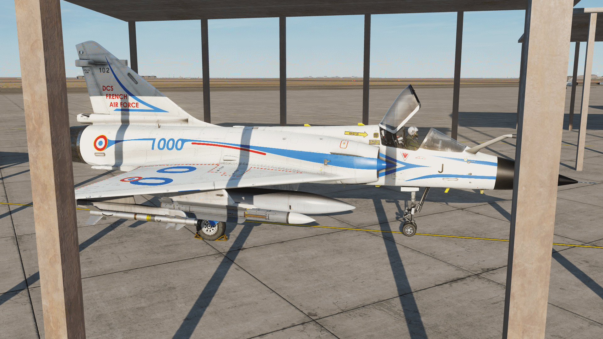 DCS French Air Force : 1.000 subs