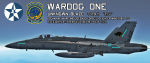 Ace Combat - Osean Air/Maritime Defense Force Wardog Squadron F-18C skin