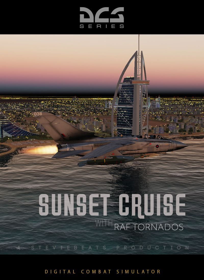 Sunset Cruise with RAF Tornados (Persian Gulf)