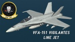 F/A-18C VFA-151 Line