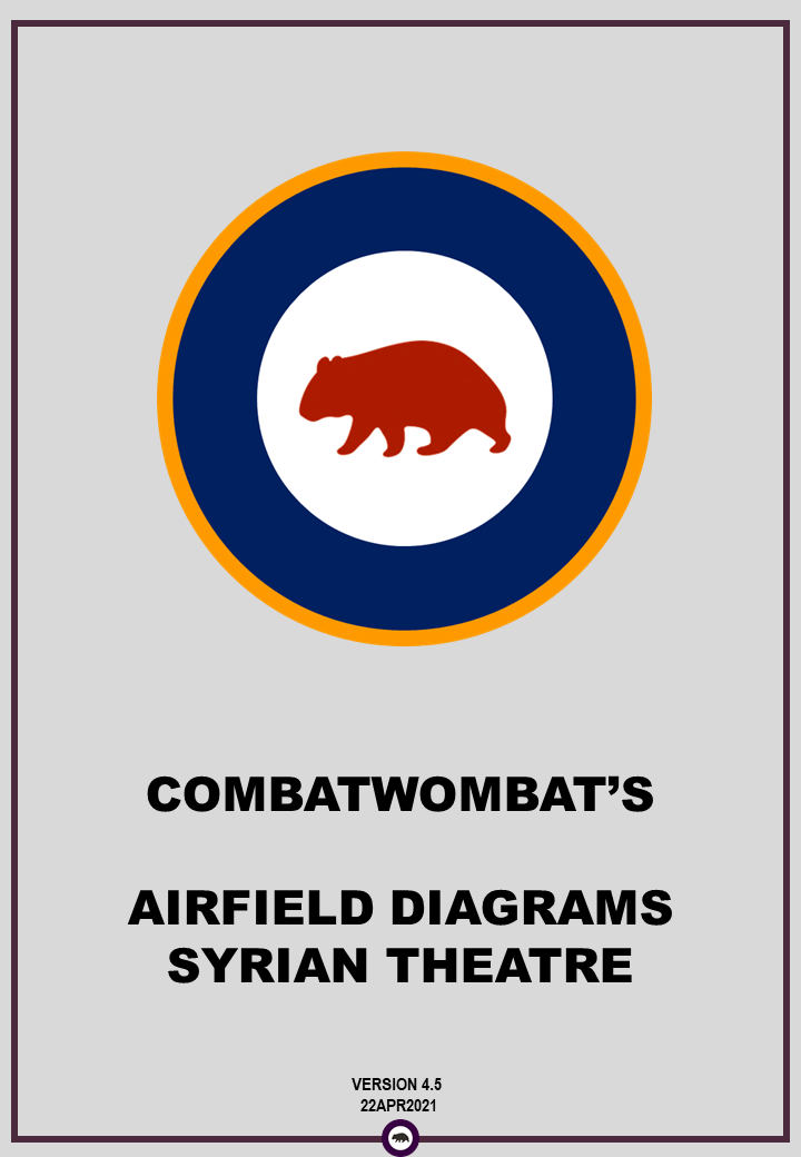 CombatWombat's Airfield Diagrams: Syrian Theatre