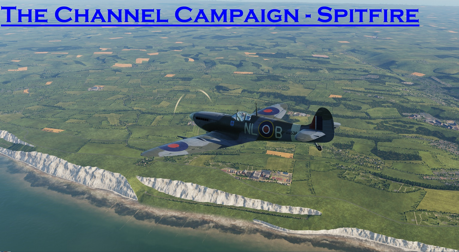 WWII The Channel Spitfire using Mbot Dynamic Campaign Engine