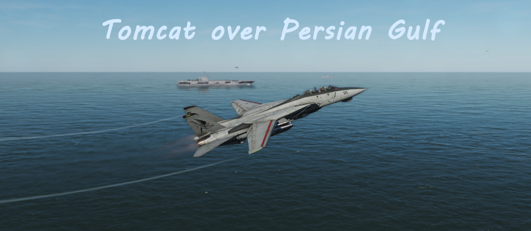Tomcat over Persian Gulf using Mbot Dynamic Campaign Engine
