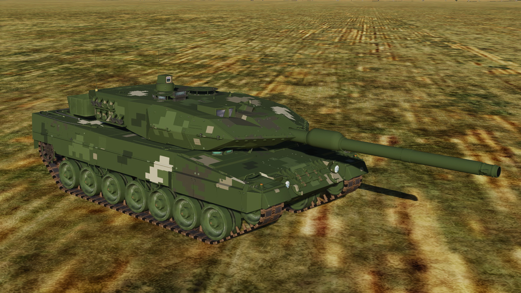 Tanks fictional summer liveries