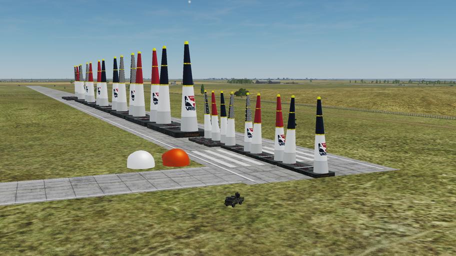 Virtual Air Racing Pylons 2019 Mod *Updated 2-10-19*