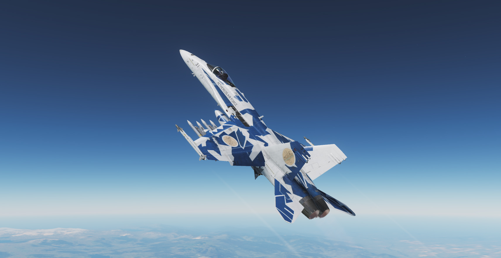 Aethereos Air Force - F/A-18C skin