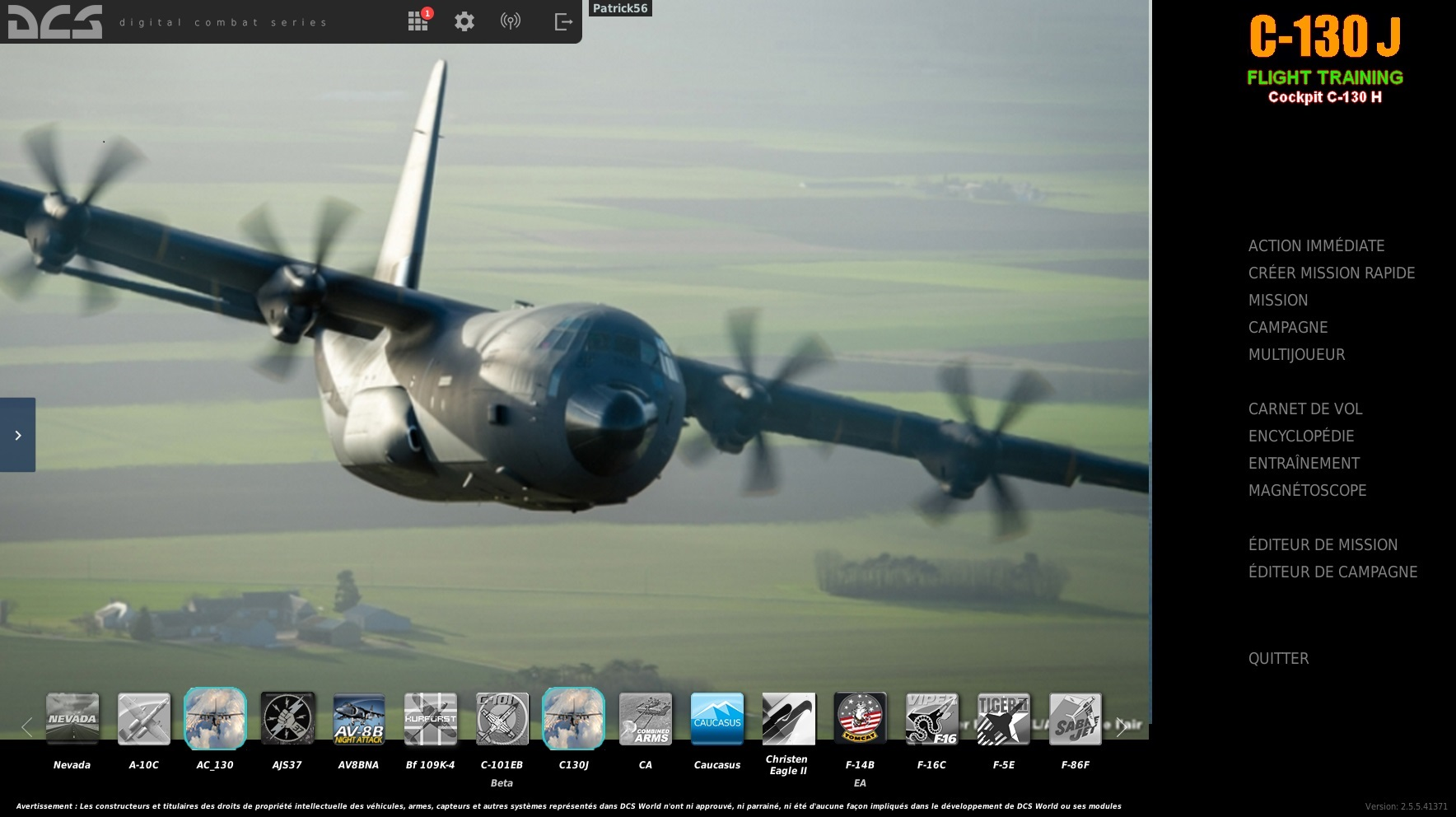 MOD C-130J FLIGHT TRAINING 2.5.5 by  the Cuesta Brothers