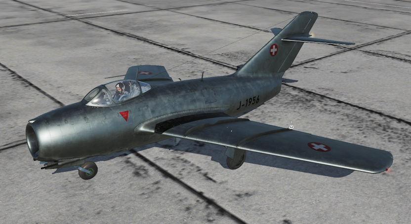 Mig-15bis Fictional Swiss Air Force Skin (DCS 2.5.3+)