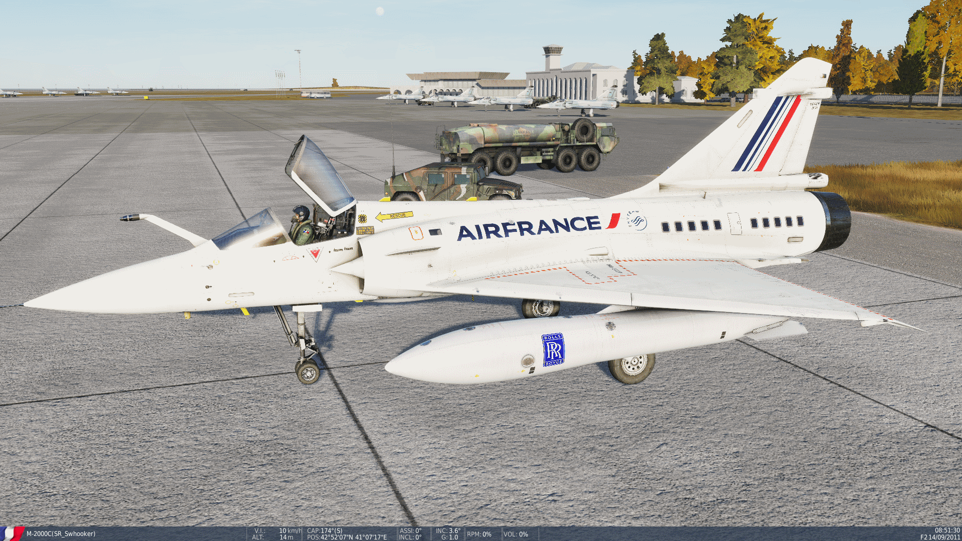 M-2000C Air France Fictionnal Livery V2.0.1