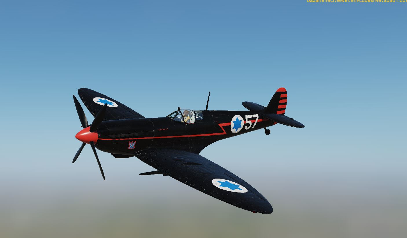 IAF - The black Spitfire