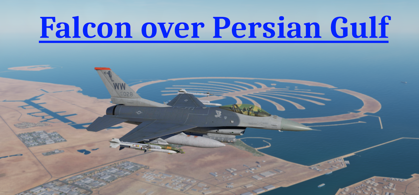 Falcon over Persian Gulf using Mbot Dynamic Campaign Engine