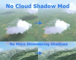 Cloud shadow / Flickering Hills Fix